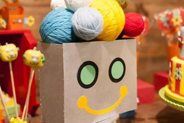 Una fiesta temática de robots muy inspiradora 2