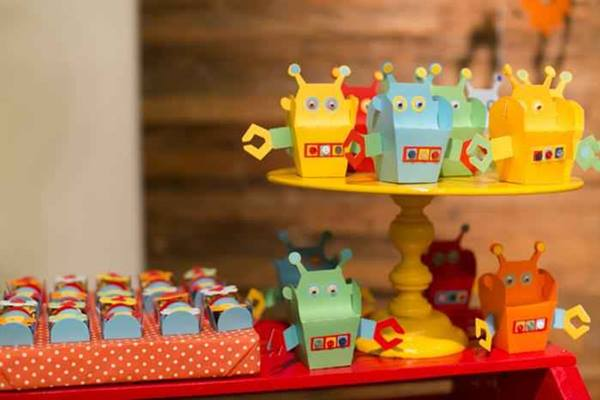 Una fiesta temática de robots muy inspiradora 3