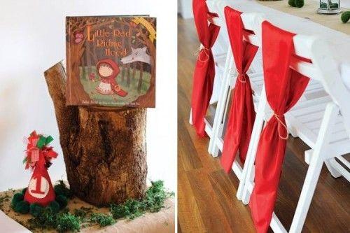 capas Caperucita Roja para fiesta infantil