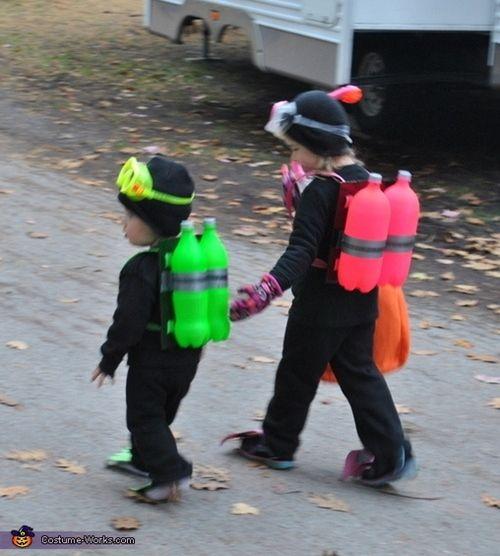 Disfraces caseros para niños originales y fáciles de improvisar