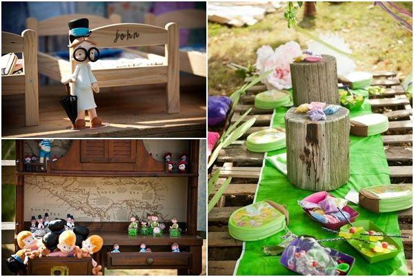 Fiesta Peter Pan para celebrar cumpleaños infantiles con imaginacion 5