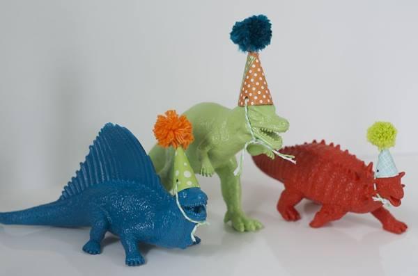 Fiesta original y divertida de dinosaurios gamberros 3
