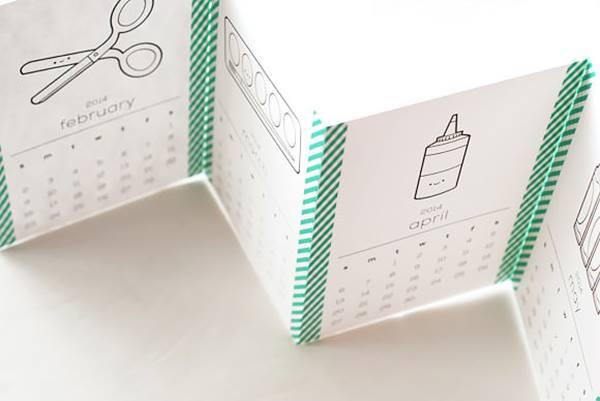 bonito calendario para imprimir con descarga gratis 4