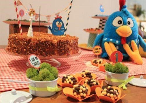 fiesta infantil gallinita