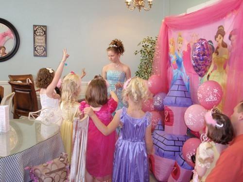fiesta infantil princesas
