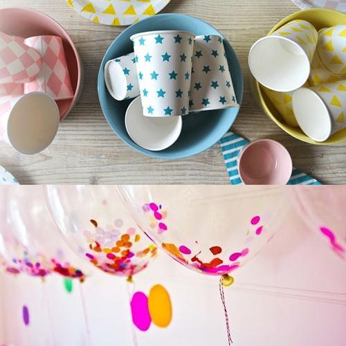 Fiestas coquetas, complementos de decoración para las fiestas infantiles