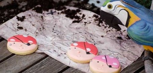 galletas piratas para niños