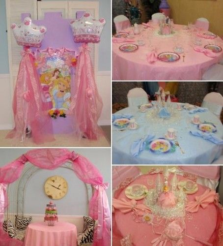 mesas fiesta princesas disney