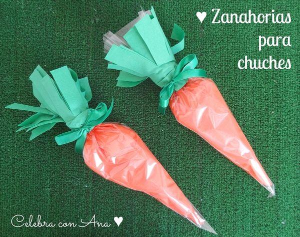 Ideas para Pascua… Zanahorias para chuches