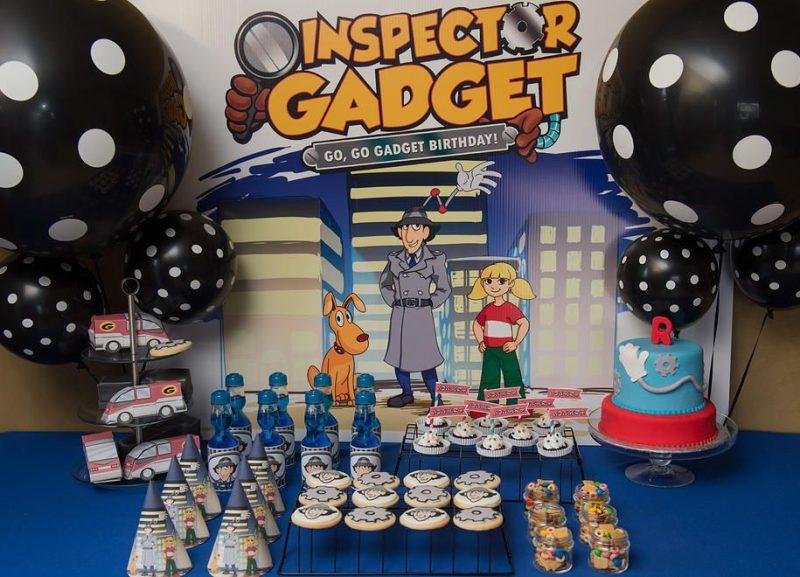 Fiesta infantil del Inspector Gadget