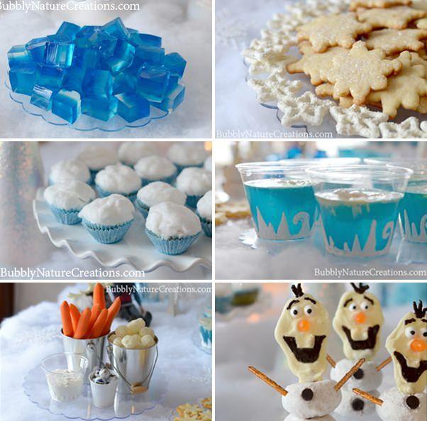 fiesta frozen para niños