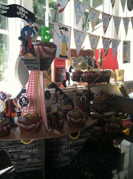 ideas barco pirata cumpleaños infantil