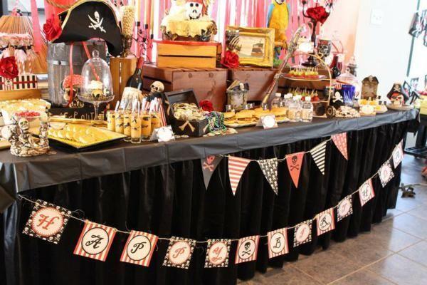 Ideas para abordar una fiesta pirata con éxito