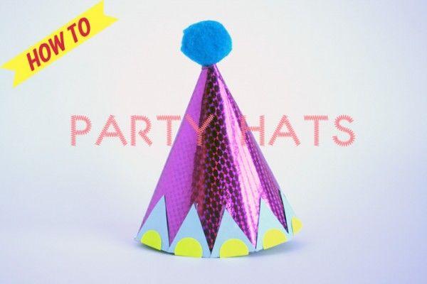 cómo hacer sombrero fiesta paso a paso (1)