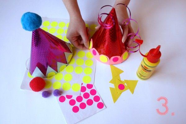 cómo hacer sombrero fiesta paso a paso (4)