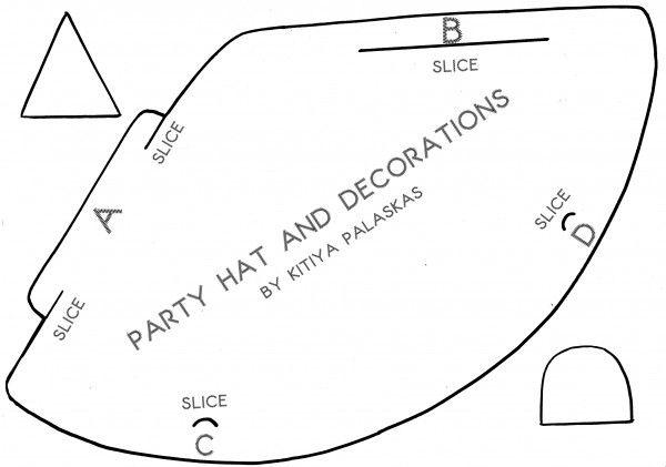 cómo hacer sombrero fiesta paso a paso (7)