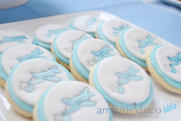 fiesta cumpleaños niño azul piloto (5)