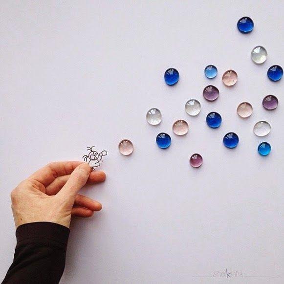 ilustraciones manualidades para hacer con niños objetos (4)
