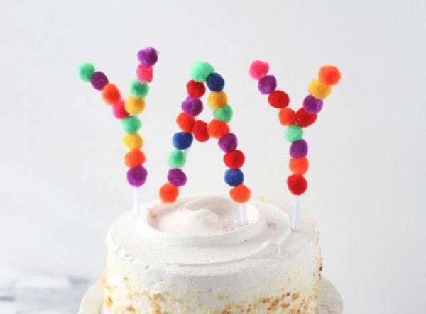 letras topper pompones limpiapipas tarta cumpleaños (4)