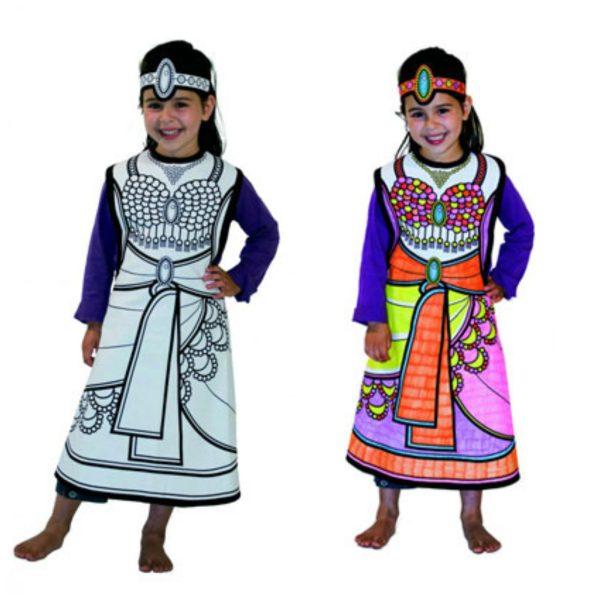 Disfraces originales para colorear -