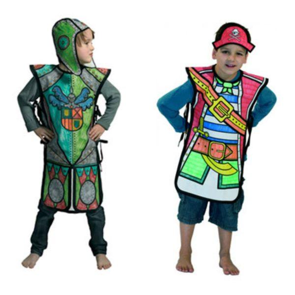 Disfraces originales para colorear -1