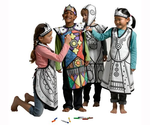 Disfraces originales para colorear (9)