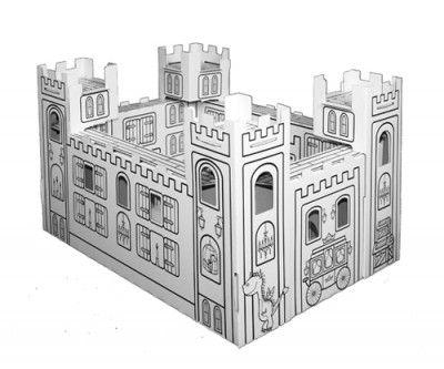castillo cartón