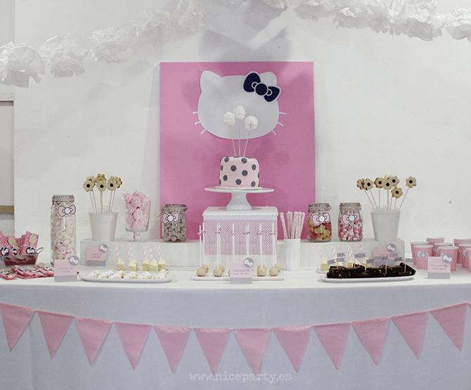 Hello Kitty: cumpleaños sólo para chicas