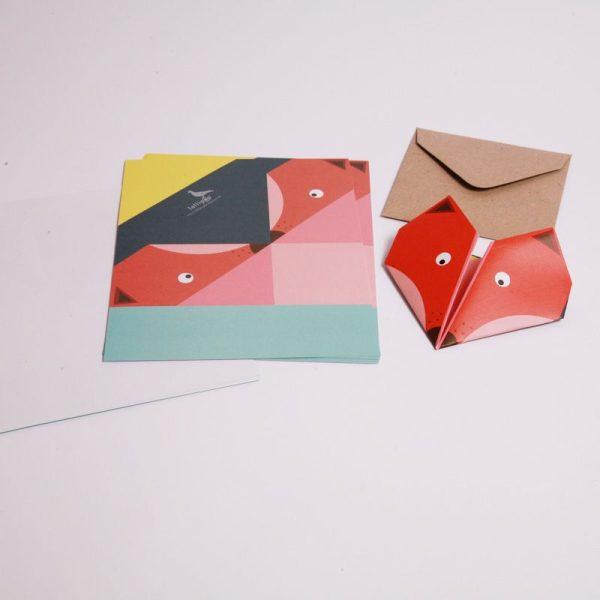 Invitaciones de origami (4)