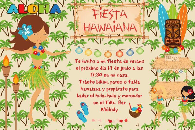 Fiesta Hawaiana Para Combatir Los Calores Del Verano Fiestas Y Cumples