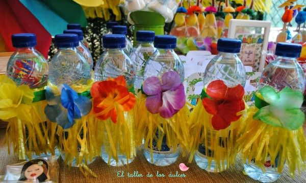 fiestas y cumpleaños ideas decoración tropical verano hawaiana hawai infantil (8)