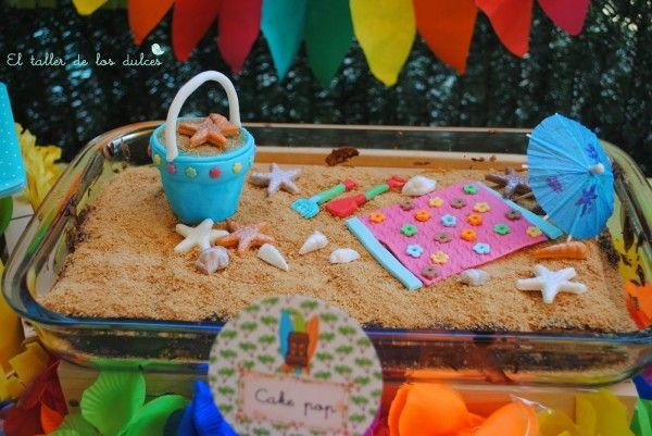 fiestas y cumpleaños ideas decoración tropical verano hawaiana hawai infantil (9)