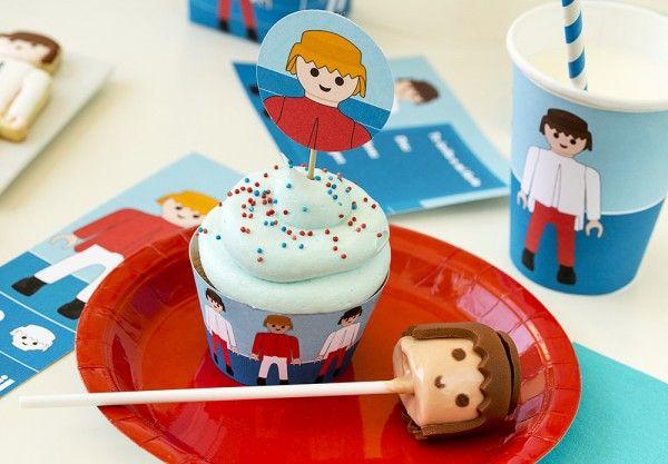 fiesta playmobil niños infantil imprimibles (2)