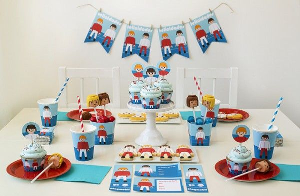 fiesta playmobil niños infantil imprimibles (3)