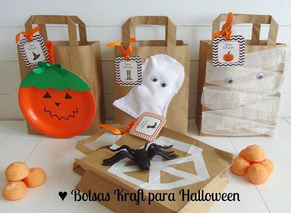 Bolsas de Halloween para chuches