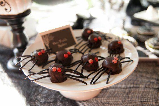Fiesta halloween ideas niños postres dulces decoracion (4)