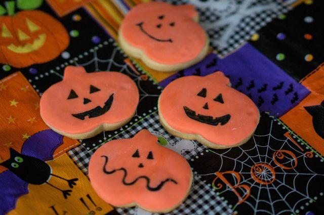 como hacer galletas halloween fondant fantasmas calabazas fiesta (7)
