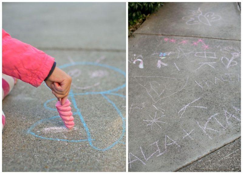 como hacer tizas de colores niños (4)