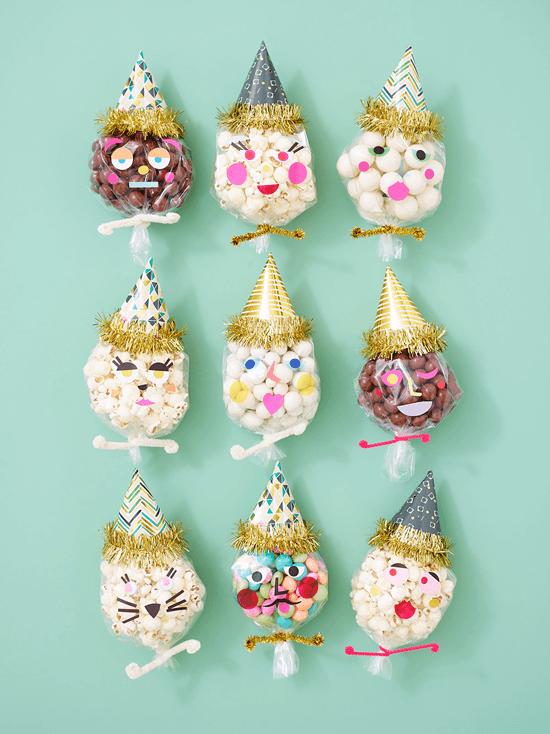Personaliza tu fiesta: transforma tus bolsas de celofán en personajes