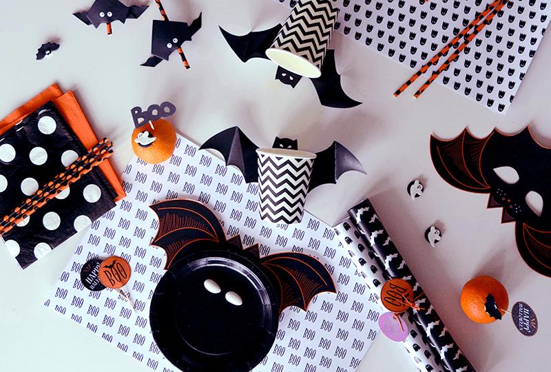 Máscaras, toppers y etiquetas descargables para la gran Noche de Brujas