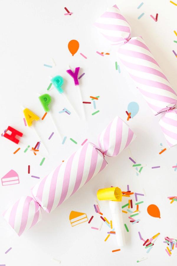Cómo hacer un lanzador de confeti para fiestas infantiles