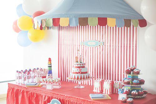 fiesta cumpleaños infantil circo circense decoracion (6)