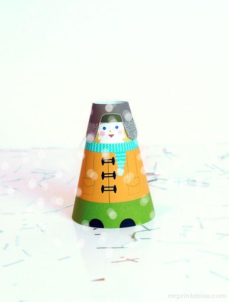 figuras navidad papel imprimibles niños juegos (7)