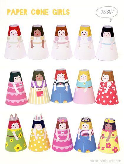 figuras navidad papel imprimibles niños juegos (8)