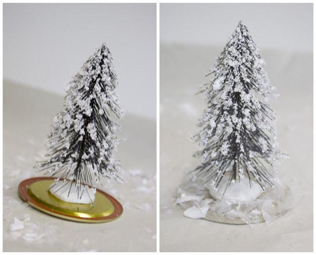 como hacer tarro nieve globo navidad casero cristal (3)