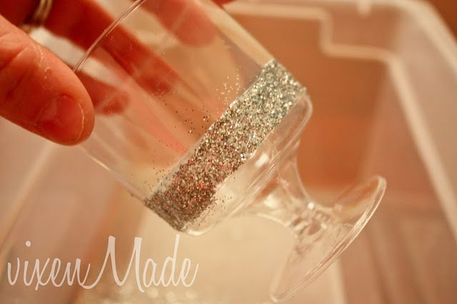 decorar pintar vasos plastico brillantina fiesta infantil (8)