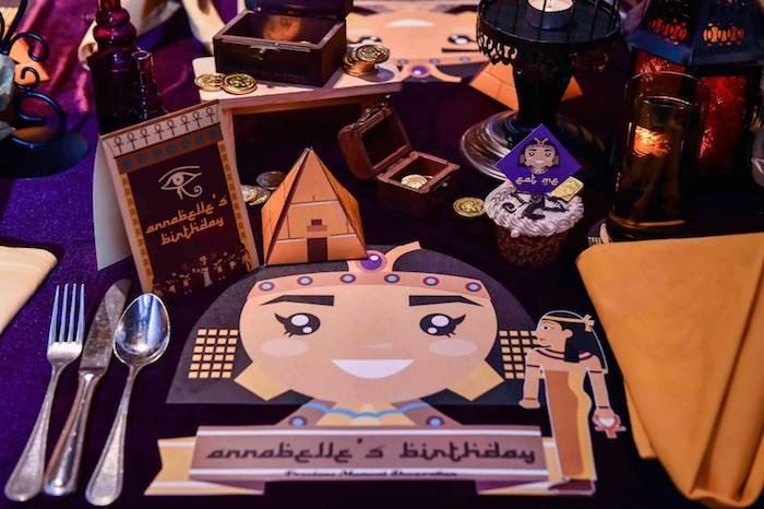 Fiesta infantil de la pequeña Cleopatra