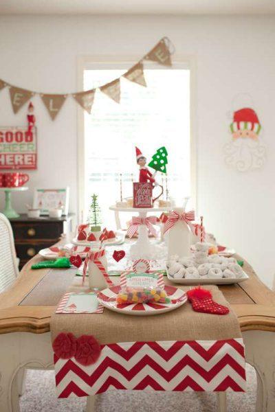 fiesta de navidad niños temática polo norte santa claus papa noel (3)