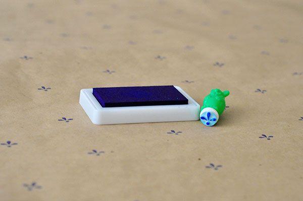 personalizar papel regalo estampar craft sello (4)