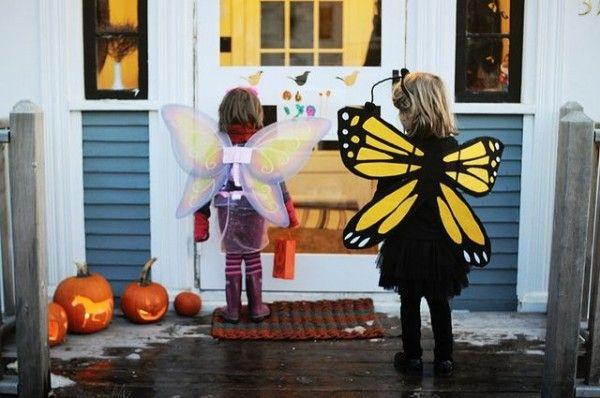 Disfraces caseros de mariposa